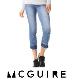 McGuire Denim Released Hem Crop Jeans